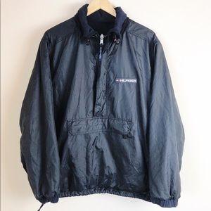 Tommy Hilfiger Men's Reversible Fleece Half Zip
